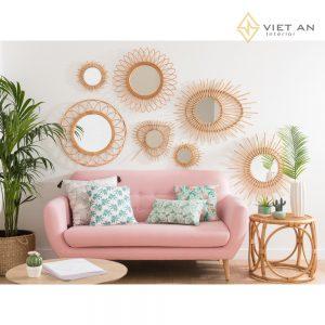 Sofa vải nhung-VABV008